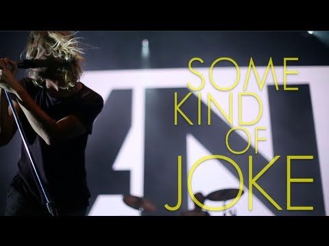 AWOLNATION - Some Kind Of Joke (Lyric Video)