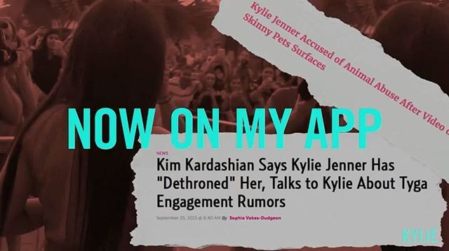 @kyliejenner: Watch me confront all the current rumors in my new video up on The Kylie Jenner Official app & TheKylieJenner.com