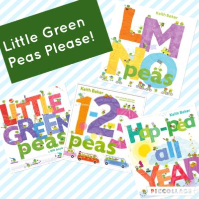 Little Green Peas Please!