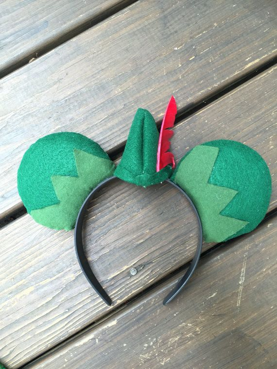 Peter Pan inspired Ears by MicheleLeighDesigns on Etsy