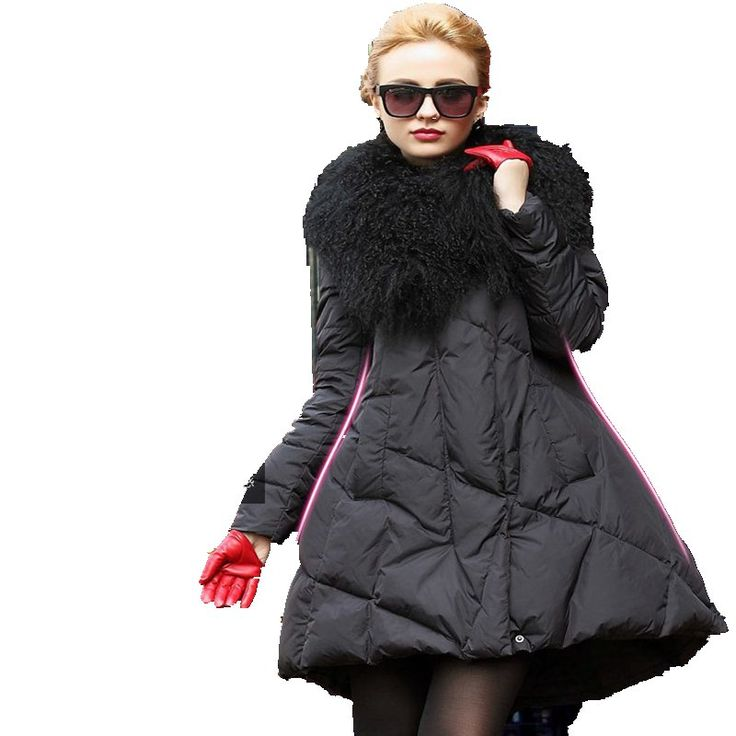 Cheap long warm jacket, Buy Quality collar coat directly from China fur collar coat Suppliers: Size Chart : (cm)SizeBustShoulderClothes LengthSleeve LengthWaistS 93 37 88 63 106M 98 38 89 63.5 110L 102 39 90 64 114X