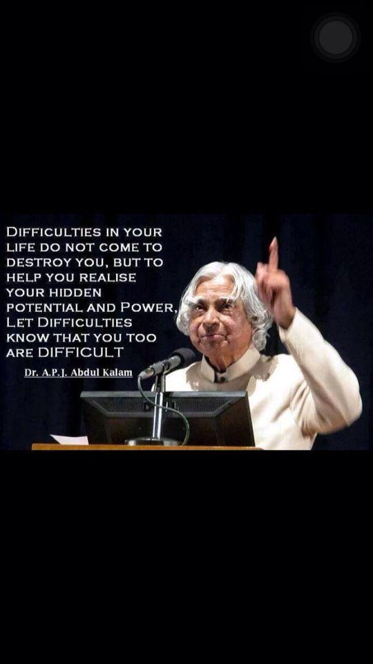 Dr Abdul Kalam's quote