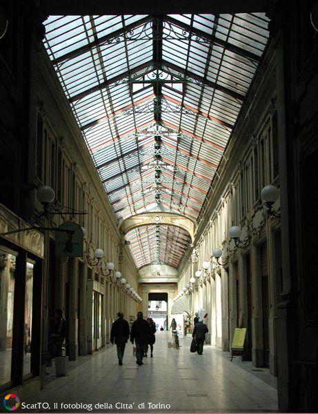Galleria Umberto I, piazza della Repubblica -TORINO
