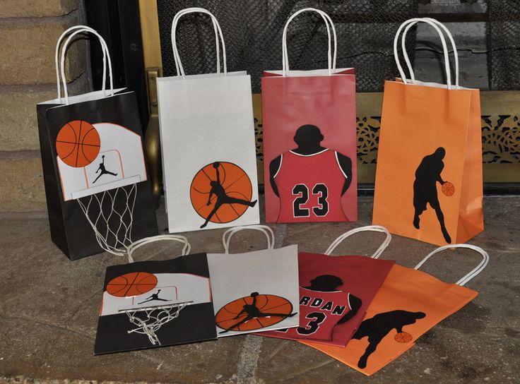 basketball goody bags set