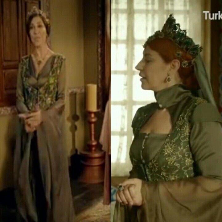 Magnificent Heritage- Green yelek