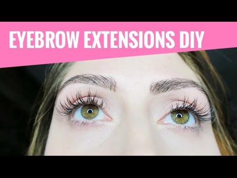 ❤❤❤❤❤ 3D Brow Building Eyebrow Extensions DIY Tutorial ♥ Mermaid Gossip - YouTube
