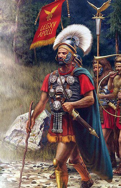 """Legio XV Apollinaris"" The Legio that settled in Satala(Today's Gümüşhane/Blacksea) to fight against Blacksean native tribes."