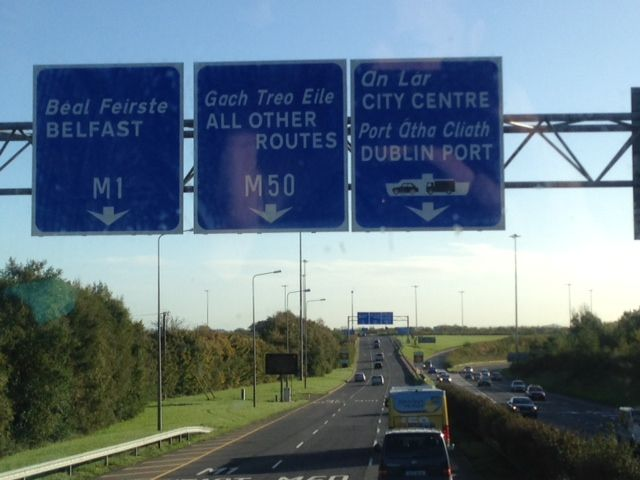 So close to Dublin!