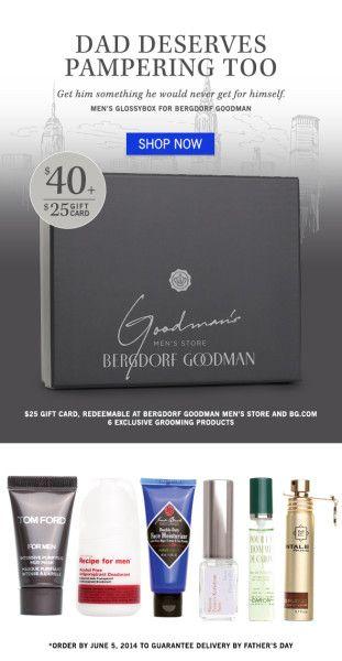 May Glossybox Collaboration With Bergdorf Goodman & New @GLOSSYBOX USA Promo Code