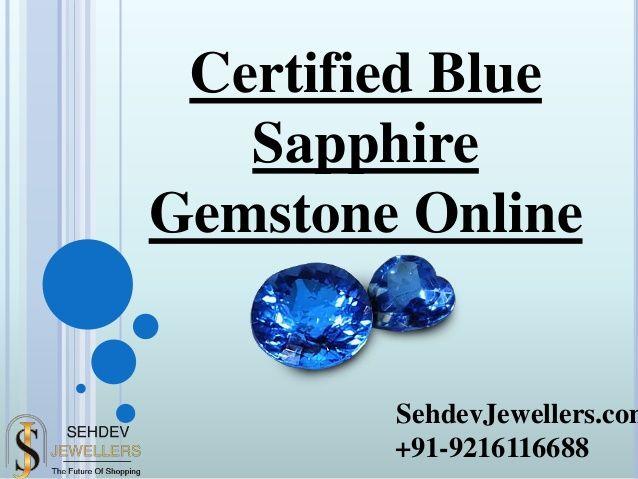 Certified Blue Sapphire Online Sapphire Gemstone Blue Sapphire Gemstones