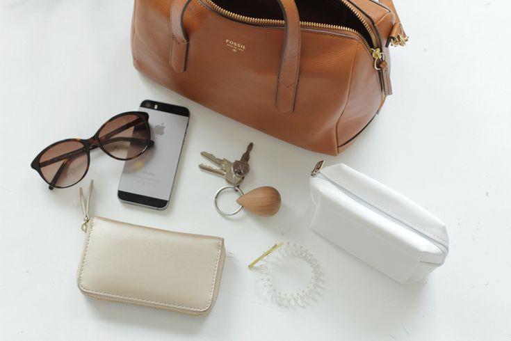 Die perfekte Tasche und was reinpassen muss #fossil #camelbag