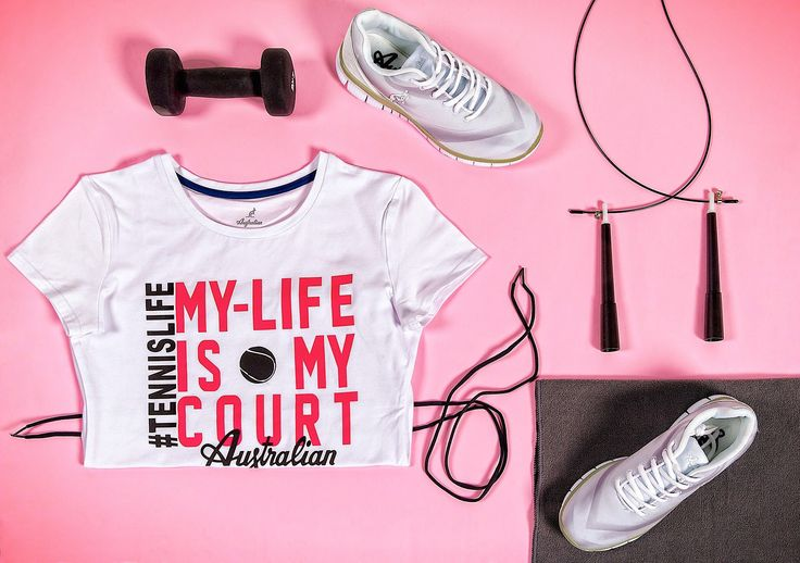Make your phisical activity unique, without sacrificing the sportive style branded #Australian. Discover all our products, visit the store: http://bit.ly/2ji0e3h #womenswear #sportswear #tennislover #pink #colour #tennis #wearing #fitness #workout