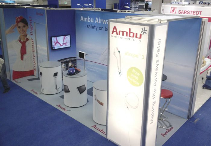 Fabric Exhibition Stand Here Alone : Best ideas about trade show displays on pinterest