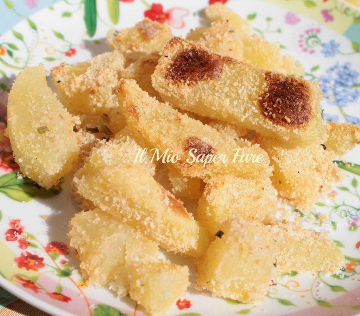 Patate Sabbiose Anna Moroni: la particolarità di queste patate è che sono morbide dentro e croccanti fuori, il tutto grazie ad una impanatura aromatizzata.
