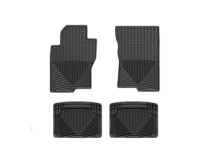 2012 Nissan Frontier | All-Weather Car Floor Mats by WeatherTech - traps water, road salt, mud and sand | WeatherTech.com