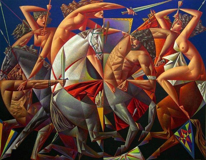 Георгий Курасов родился в 1958 году в СССР, в Ленинграде. Он по-прежнему живет и работает в России, Санкт-Петербурге. Как пишет художник, ему удалось оказаться в…