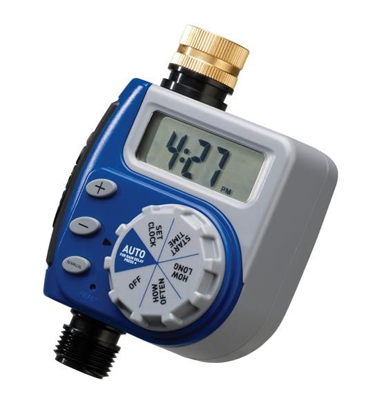 Orbit Irrigation | 1 Dial 1 Outlet Digital Timer - For automated watering of a garden.