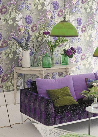 Alexandria wallpaper from Designers Guild - P623/03 - Amethyst