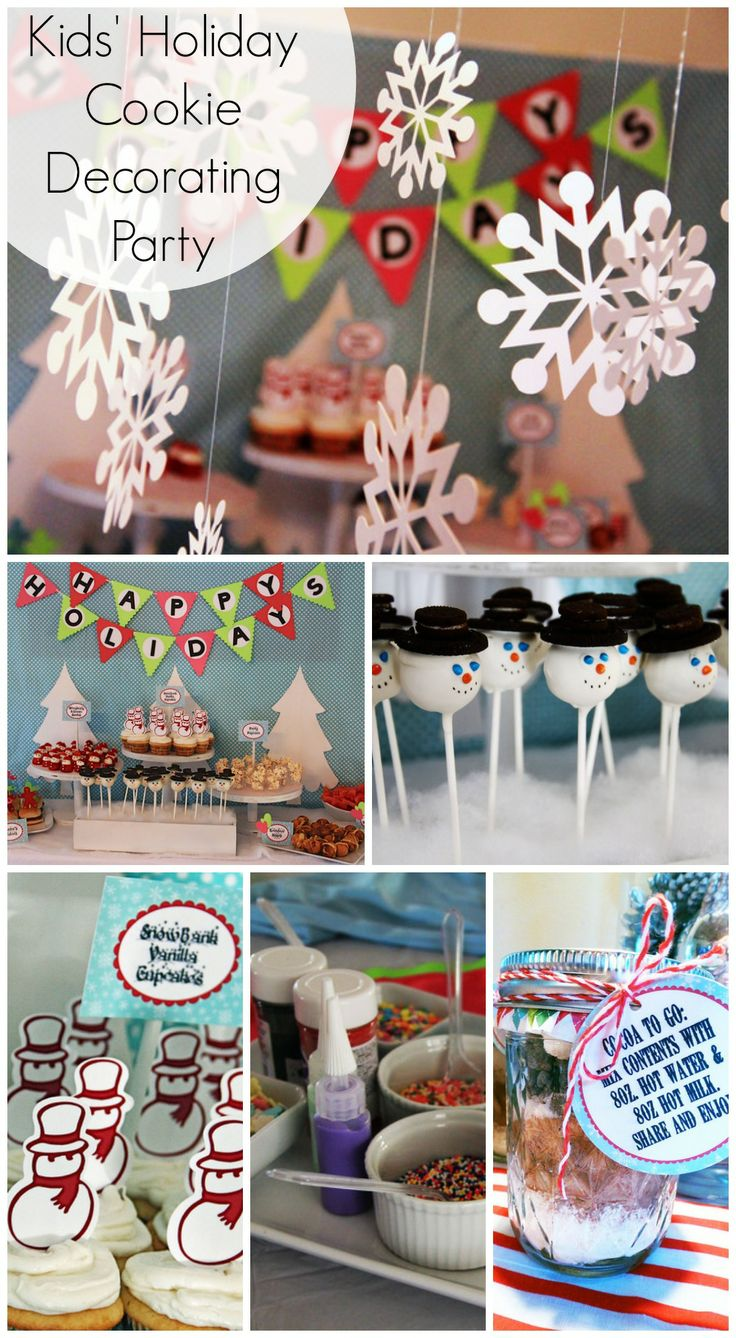 Cookie decorating party ideas - 233 Best Winter Wonderland Party Images On Pinterest Christmas Ideas Christmas Parties And Winter Wonderland Party