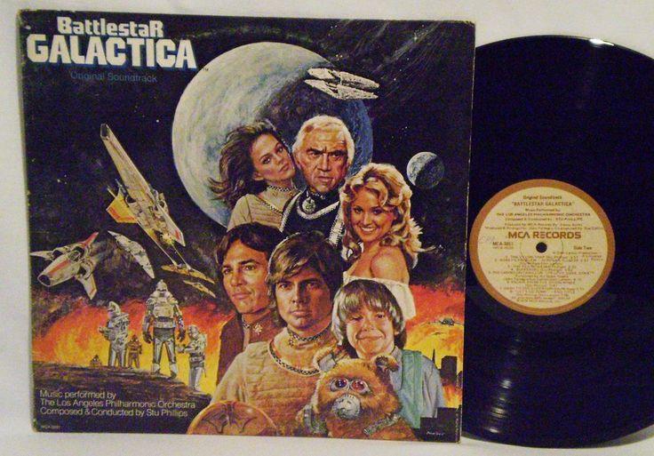 BATTLESTAR GALACTICA Orig. Soundtrack,1978, LA Philharmonic Orchestra Classical #Orchestra