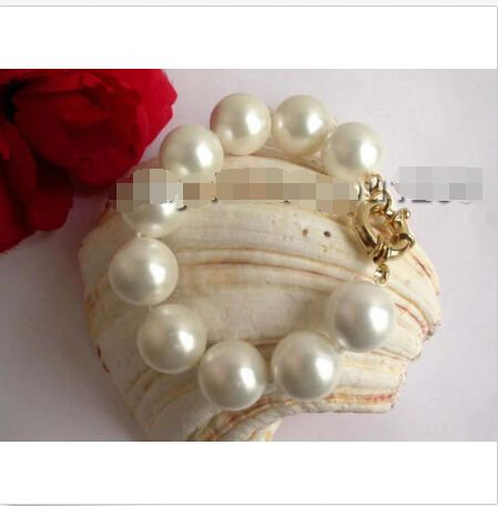 HUGE!Natural 18mm Round white Shell Pearl Bracelet!@^Noble style Natural Fine jewe SHIPPING 6.2 6.02,   Engagement Rings,  US $42.88,   http://diamond.fashiongarments.biz/products/hugenatural-18mm-round-white-shell-pearl-braceletnoble-style-natural-fine-jewe-shipping-6-2-6-02/,  US $42.88, US $42.88  #Engagementring  http://diamond.fashiongarments.biz/  #weddingband #weddingjewelry #weddingring #diamondengagementring #925SterlingSilver #WhiteGold