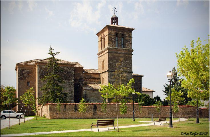 Iglesia parroquial de Muruzábal, Navarra, Camino de Santiago