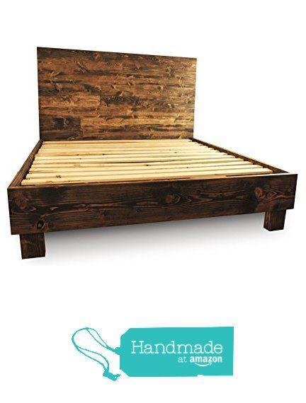 Farmhouse Bed Frame and Headboard Set / Reclaimed Style / Rustic and old world from Pereida-Rice Woodworking https://www.amazon.com/dp/B016C9BPBA/ref=hnd_sw_r_pi_awdo_ajpOxb8Q1NF8F #handmadeatamazon