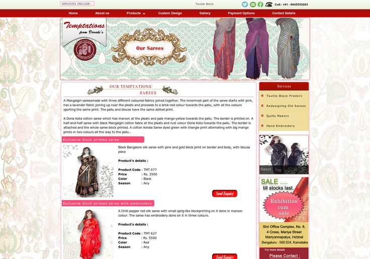 We are offering to our customers a wide range of Custom made quilt makers, Hand embroidery for sarees in Bangalore, India