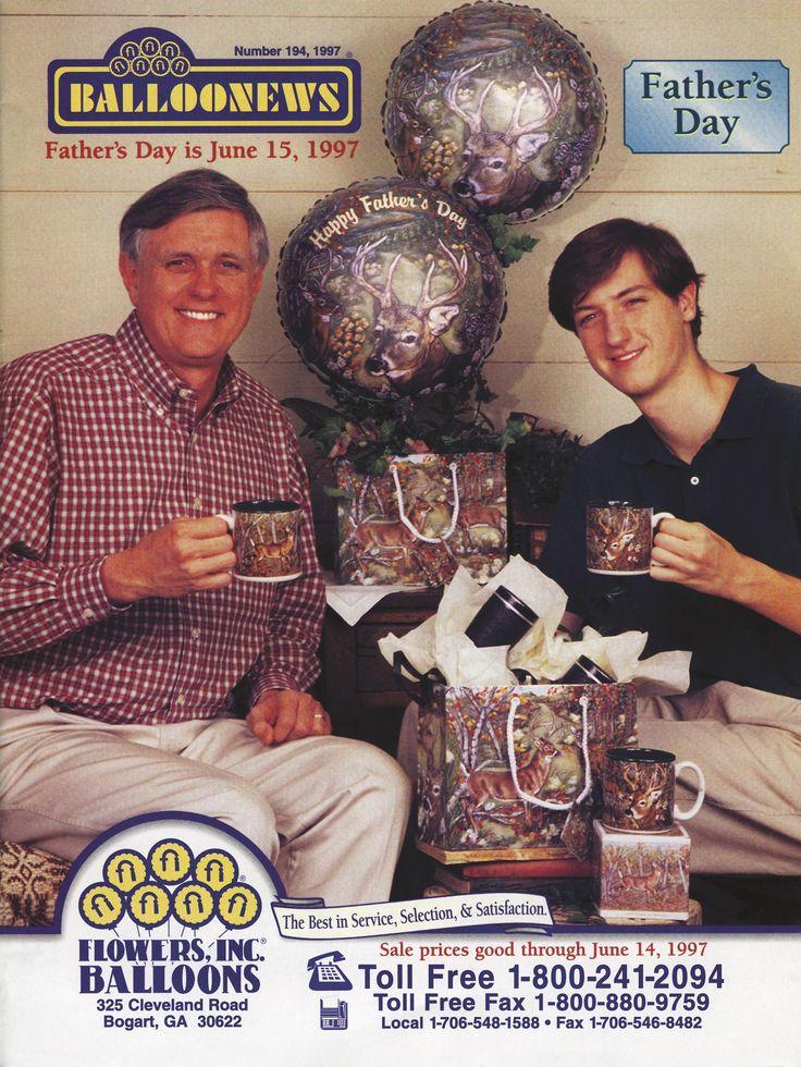 BALLOONEWS: Father's Day 1997 #burtonandburton #tbt