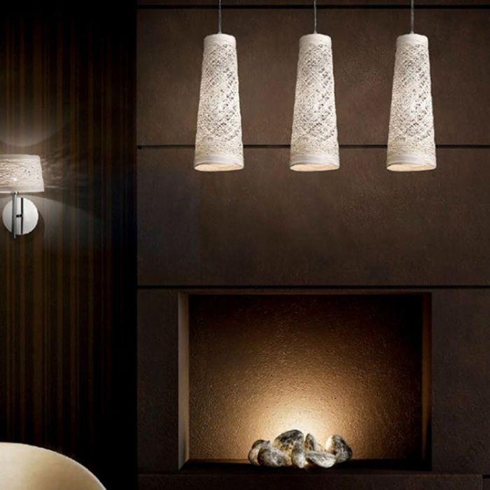 Basket sospensione cono - Ideal Lux - Lampadari Sospensione - Progetti in Luce