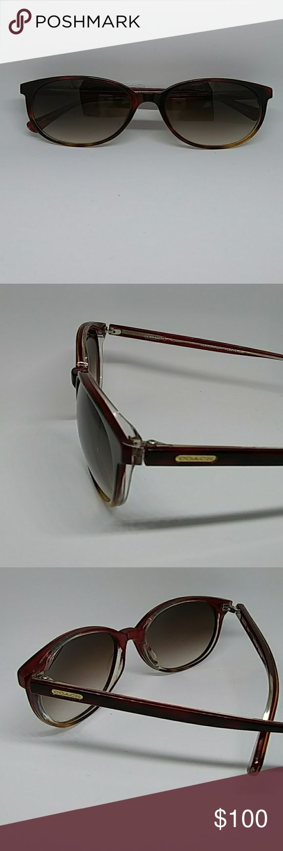 Gorgeous Coach sunglasses slight scuffs in lens Womens Gorgeous Coach sunglasses slight scuffs in lens. Perfect for beaches and pool side  BUNDLE AND SAVE Coach Accessories Sunglasses