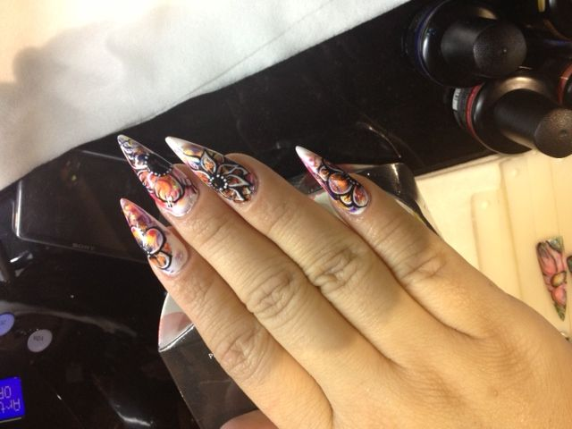 22 best artistic polish nail art images on pinterest facts artistic colour gloss nailart prinsesfo Image collections