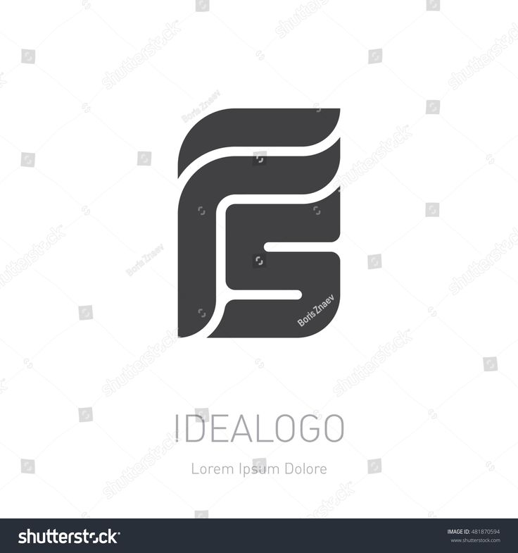 F5 logotype. F and S initial logo. Vector design element or icon.