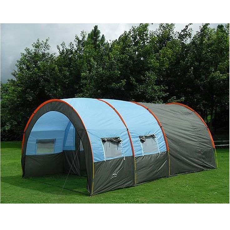 178.22$  Watch here - http://ali28u.worldwells.pw/go.php?t=32306508806 - Large Camping Tent 6 Waterproof Canvas Fiberglass 5-8 People Tunnel 10 Person Tents equipment outdoor mountaineering family tent 178.22$