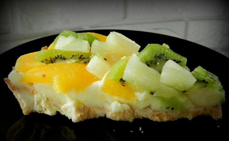 Tarta z owocami...