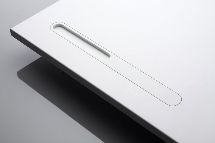 Linie 3 handles in Corian by V. Ambroz for Amos Design _