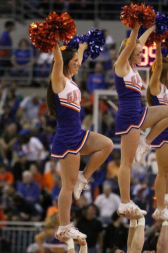 Florida Gators cheerleaders