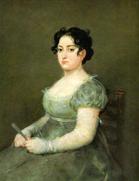 - Woman with Fan Francisco de Goya
