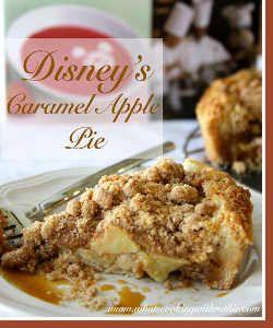 Imitation Disney's Caramel Apple Pie