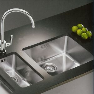 Franke Kubus KBX 110 34 Undermount Stainless Steel Kitchen Sink   Cliff Is  Keen On The Franke Sinks, I Donu0027t Think I Could Manage Without The Extra  Half ...