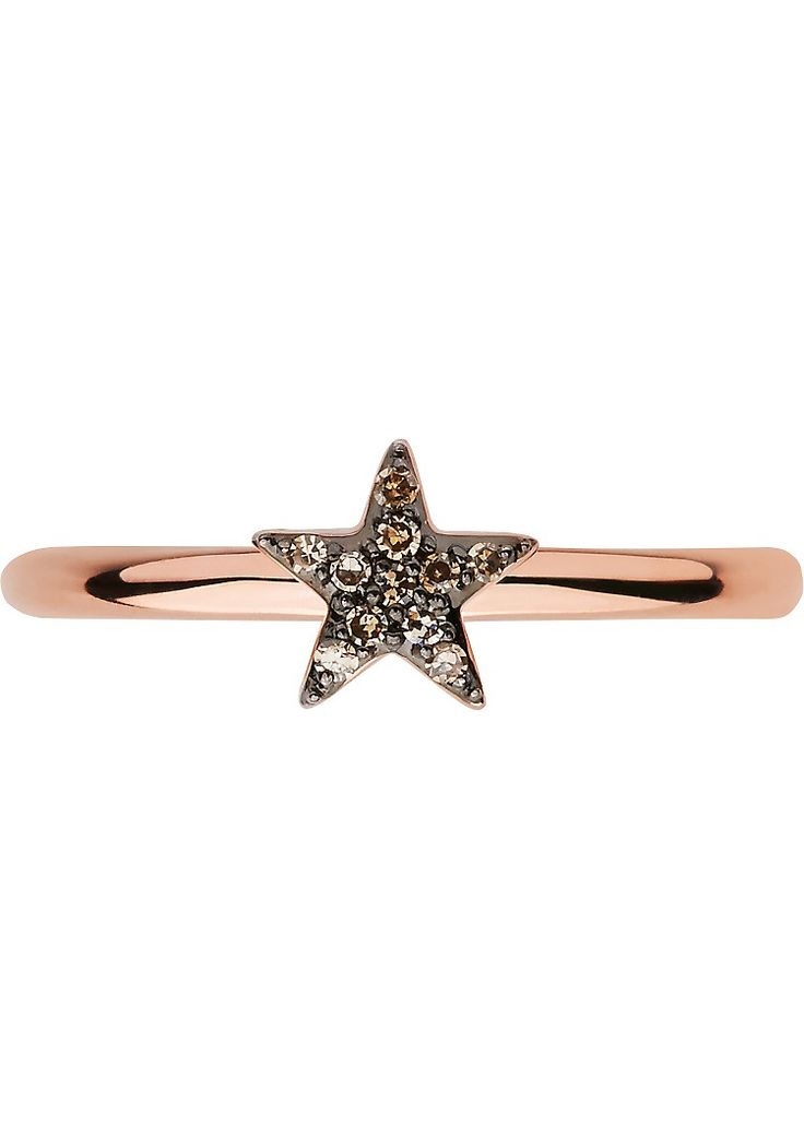 LINKS OF LONDON - Diamond Essentials 18ct rose-gold vermeil and diamond star ring | Selfridges.com