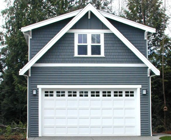 Best 25 detached garage ideas on pinterest covered for Two car garage with studio apartment