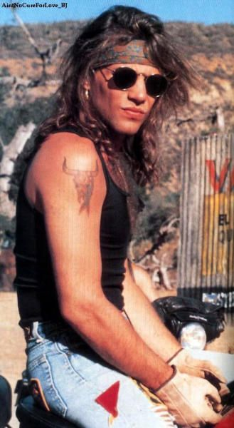 """Jon Bon Jovi, you had me at """"You Give Love a Bad Name""""...when I was 4. <3"""