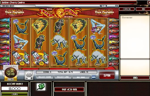 #5ReelCircus slot machine game is a release from Rival Gaming Software. It has 5 reels, 15 pay-lines, free spins, scatters, wilds, multipliers and #prizes worth up to £37,500.  This slot has a #circus theme, so you'll find many of the related #animals and characters in the game. The circus tent surrounds the reels with orange and red colors used predominantly.