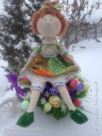 Кукла Вика фото 1