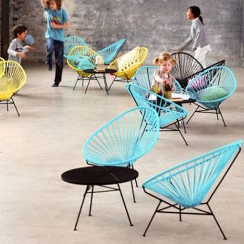 DESIGNDELICATESSEN - Ok Design - Acapulco Mini Blå - stol