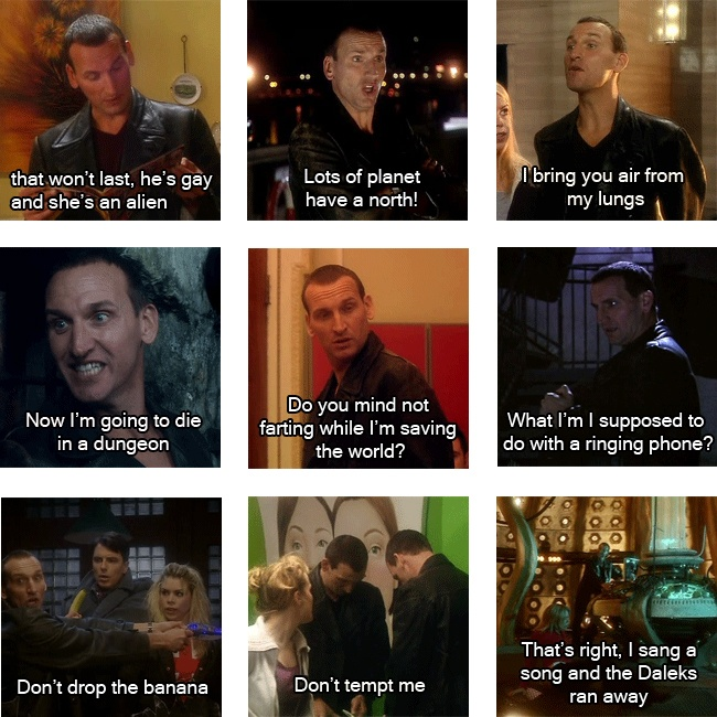 the ninth doctor is my doctor Is this your favorite doctor click easyedit above to contribute what  you know about the ninth doctor new to wikis visit the help section for tips on .