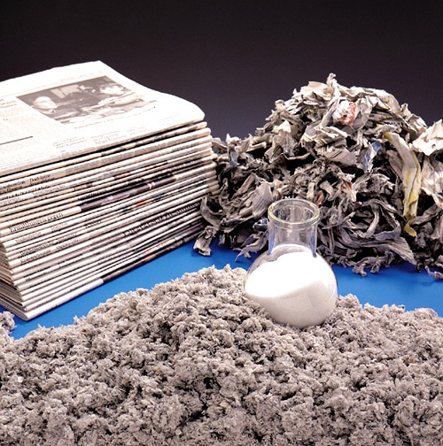 Aislante termico papel reciclado
