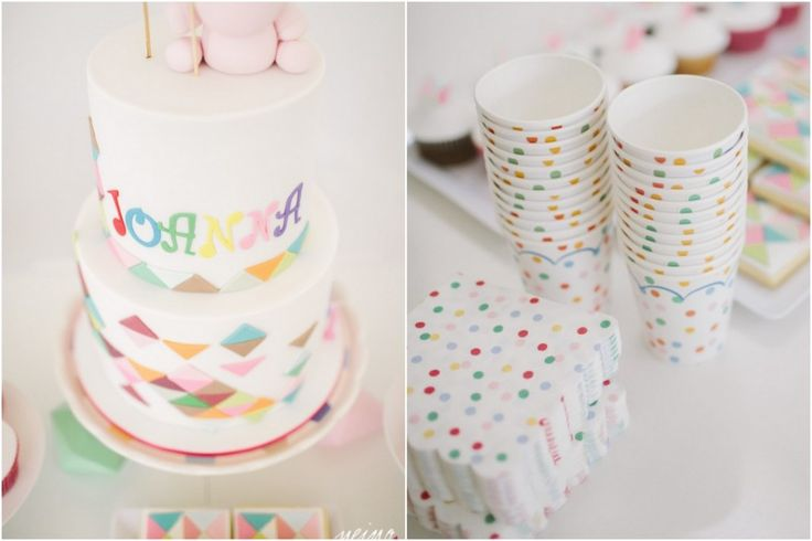 PASTEL GEOMETRIC THEMED PARTY