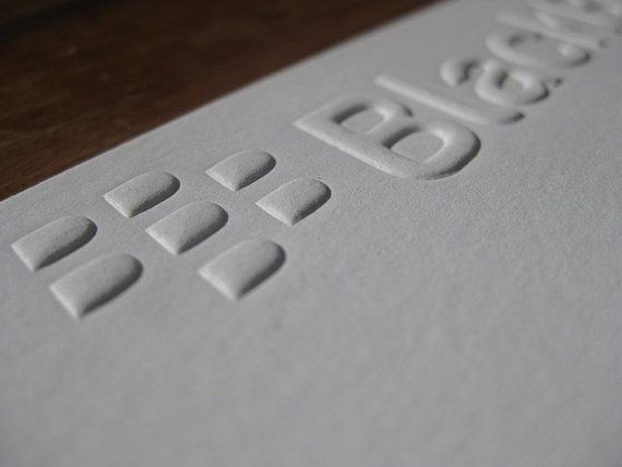 Have Your Company Logo Embossed Onto